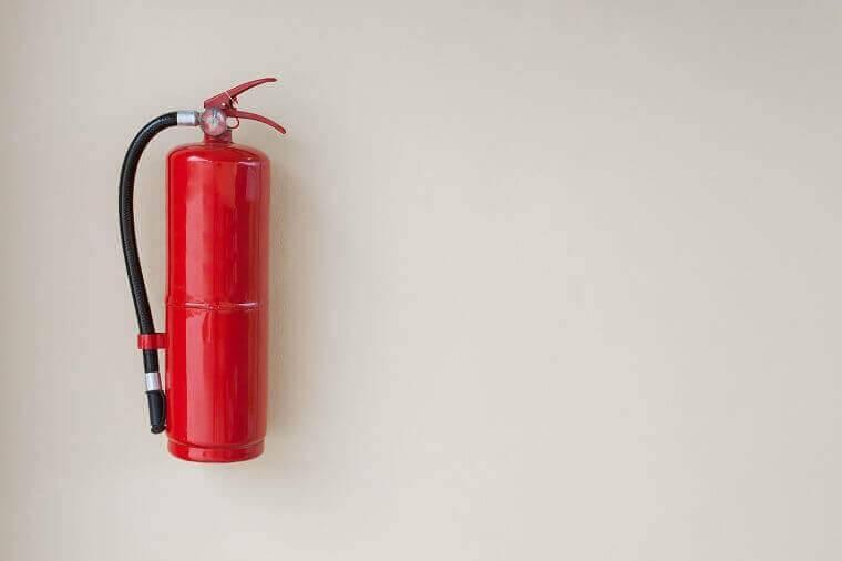 Verzegelingen voor brandblussers