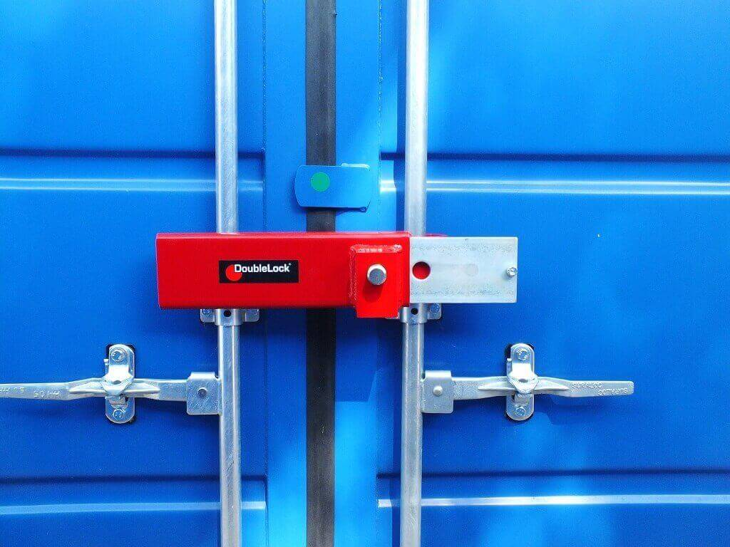 DoubleLock Container Lock HEAVY RED-3