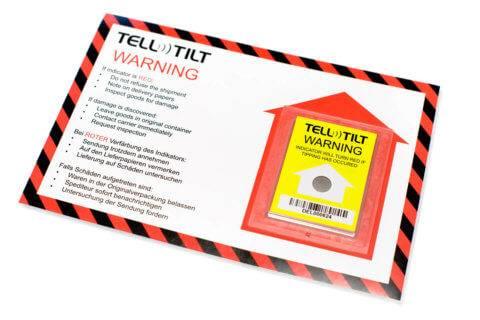 Tell-Tilt Kantelindicator